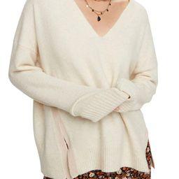 Side Slit Fuzzy Knit SweaterSCOTCH & SODA   Nordstrom