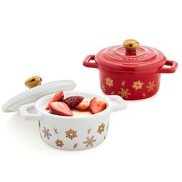 Martha Stewart Collection Stoneware Holiday Cocottes, Set of 2, Created for Macy's & Reviews - Co...   Macys (US)