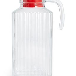 Martha Stewart Collection Glass Pitcher with Red Lid, Created for Macy's  & Reviews - Kitchen Gad...   Macys (US)