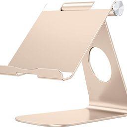 Tablet Stand Holder Adjustable, OMOTON T1 iPad Stand, Desktop Aluminum Tablet Dock Cradle Compati...   Amazon (US)