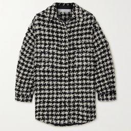 Restrain houndstooth tweed shirt | Net-a-Porter (US)