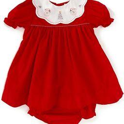 Baby Girl 3-24 Months Santa Collar A-Line Dress | Dillards