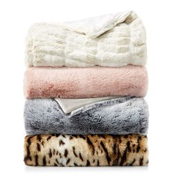 Faux Fur Throw Collection - 100% Exclusive | Bloomingdale's (US)