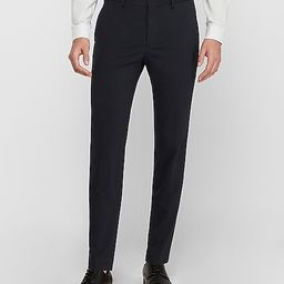 Extra Slim Navy Luxe Comfort Soft Suit Pant   Express