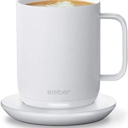 NEW Ember Temperature Control Smart Mug 2, 10 oz, White, 1.5-hr Battery Life - App Controlled Hea... | Amazon (US)