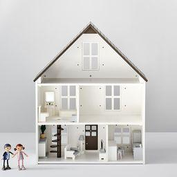 3 Room Dollhouse Accessory Set | Pottery Barn Kids
