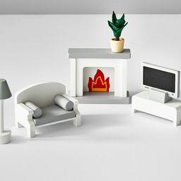 Dollhouse Living Room Accessory Set | Pottery Barn Kids