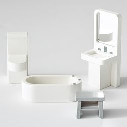 Dollhouse Bathroom Accessory Set | Pottery Barn Kids