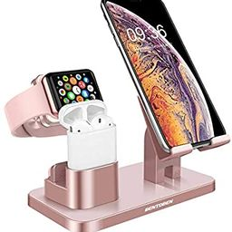 BENTOBEN 3-in-1 Charging Stand, Universal Charging Dock Station for Airpods 2/1 Apple Watch Serie... | Amazon (US)
