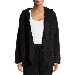 Secret Treasures Women's And Women's Plus Size Sherpa Bed Jacket | Walmart (US)