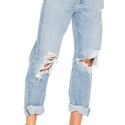 90s Mid Rise Loose Fit in Fall Out | Revolve Clothing (Global)