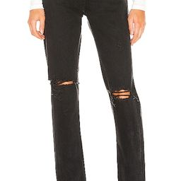 Cherie High Rise Straight in Distortion | Revolve Clothing (Global)