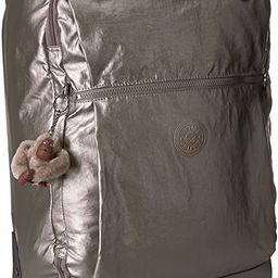 Kipling Darcey Softside Spinner Wheel Luggage, Pewter Metallic, Carry-On 22-Inch | Amazon (US)