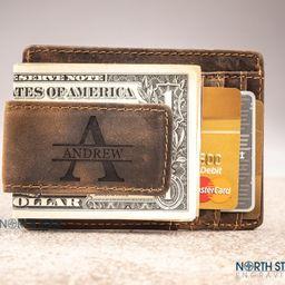 Husband gift Boyfriend Christmas gift Mens Leather Money | Etsy | Etsy (US)