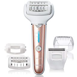 Panasonic Cordless Shaver & Epilator For Women With 5 Attachments, Gentle Wet/Dry Hair Removal fo... | Amazon (US)