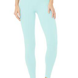 Alo Yoga®   High-Waist Airbrush Legging in Blue Quartz, Size: 2XS   Alo Yoga
