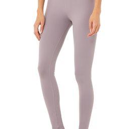 Alo Yoga®   High-Waist Airbrush Legging in Lavender Smoke, Size: Large   Alo Yoga