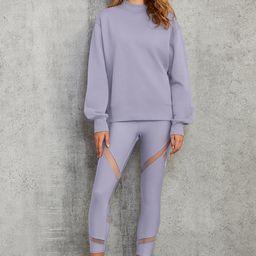 Alo Yoga®   Freestyle Sweatshirt in Blue Moon, Size: XS   Alo Yoga