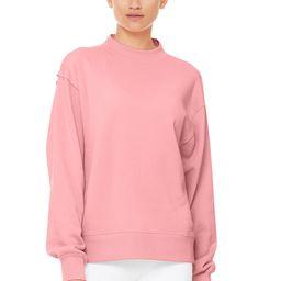Alo Yoga®   Freestyle Sweatshirt in Macaron Pink, Size: XS   Alo Yoga