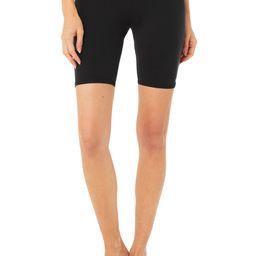 Alo Yoga®   Airbrush Biker Short in Black, Size: Medium   Alo Yoga