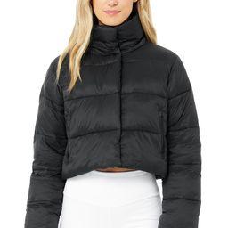 Gold Rush Puffer Jacket in Black, Size: Medium   Alo Yoga®   Alo Yoga