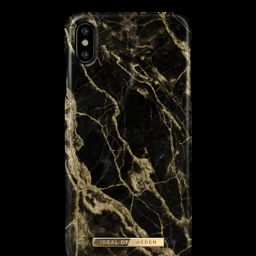Fashion Case iPhone X/XS Golden Smoke Marble | iDeal of Sweden (CA)