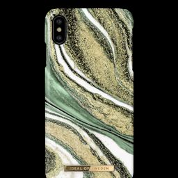 Fashion Case iPhone X/XS Cosmic Green Swirl | iDeal of Sweden (CA)