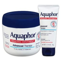 Aquaphor Healing Ointment - Variety Pack, Moisturizing Skin Protectant For Dry Cracked Hands, Hee... | Amazon (US)