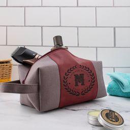 Personalized Groomsmen Waterproof Toiletry Bag Leather Dopp | Etsy | Etsy (US)