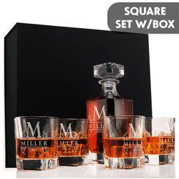 Whiskey Decanter Set w/ Optional Glasses & Engraving | Etsy | Etsy (US)