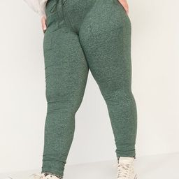 High-Waisted CozeCore Plus-Size Jogger Sweatpants | Old Navy (US)