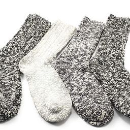 Weatherproof Boot Crew Socks for Womens,Warm,Soft Cotton Blend,Show Size 5-9.5 (4 Pack_   Amazon (US)