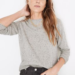 Donegal Cashmere Roll-Trim Pullover Sweater   Madewell