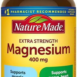 Nature Made Extra Strength Magnesium Oxide 400 mg Softgels, 110 Count for Nutrition Support (Pack...   Amazon (US)