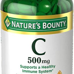 Vitamin C by Nature's Bounty for Immune Support. Vitamin C is a Leading Immune Support Vitamin,...   Amazon (US)