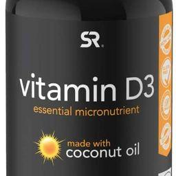 Vitamin D3 (5000iu/125mcg) Infused with Coconut Oil ~ Non-GMO & Gluten Free (360 Mini Liquid Soft...   Amazon (US)