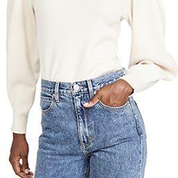 Solid Mock Neck Pullover   Shopbop