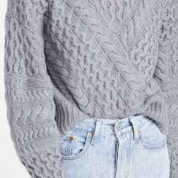 Cable Crew Pullover   Shopbop