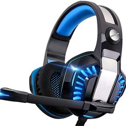 Gaming Headset for Xbox One,PS4,PC,Laptop,Tablet with Mic,Pro Over Ear Headphones,Noise Canceling... | Amazon (US)