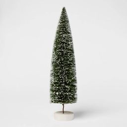Bottle Brush Tree Figurine - Threshold™ | Target