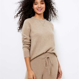 Lou & Grey Sweatshirt Sweater   LOFT   LOFT
