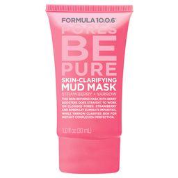 Formula 10.0.6 Clarifying Mud Mask - Strawberry Yarrow - 1oz   Target
