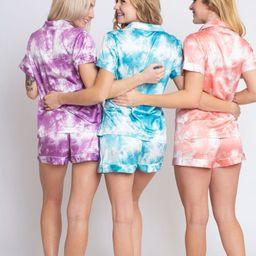 Tie Dye Bridesmaid Pajama Pajamas Monogram Bridesmaid Pajama | Etsy | Etsy (US)
