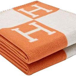 Ultra Soft Fleece H Blanket All Season Living Room/Bedroom Wearable Warm Throw Size Blanket for S...   Amazon (US)