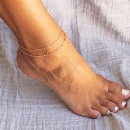Anklet for Women Anklet Bracelet Gold Anklet Simple Chain   Etsy   Etsy (US)