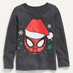 Unisex Marvel Comics&#153 Christmas-Graphic Spider-Man Tee for Toddler | Old Navy (US)