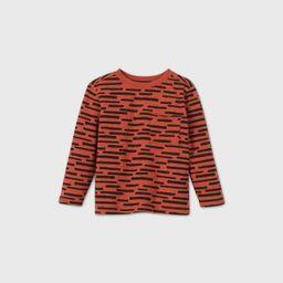 Toddler Boys' Long Sleeve Printed Pocket T-Shirt - art class™   Target