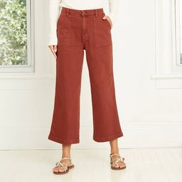 Women's High-Rise Wide Leg Cropped Jeans - Universal Thread™ | Target
