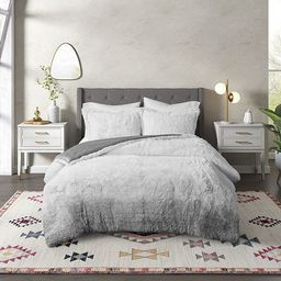 CosmoLiving by Cosmopolitan Cleo Ombre Shaggy Faux Fur Comforter Set   Kohl's