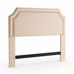 Copper Grove Sabine Headboard - khaki linen - Queen/Full   Overstock